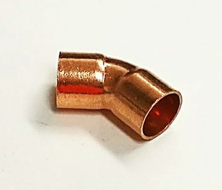 "1/2"" 45° COPPER ELBOW"