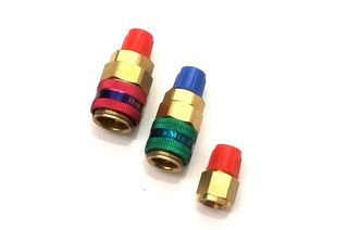 QUICK COUPLER HIGH & LOW PRESSURE KIT