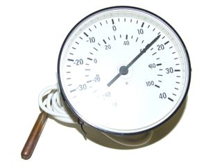 THERMOMETER -40 to 40 with back braket