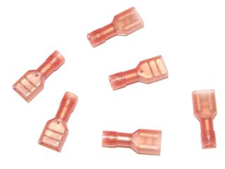 RED INSULATED TERMINAL 6.35 X 0.8MM
