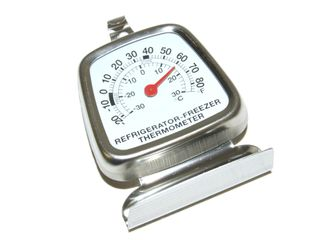 THERMOMETER S/S FOR REFRIGERATORS