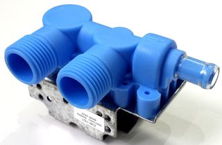 BLUE DOUBLE INLET VALVE GE WHIRLPOOL