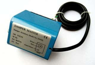 SPRING RETURN DAMPER MOTOR D050E 6W 240V