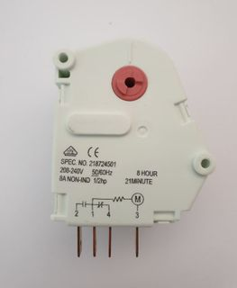 GENERIC DEFROST TIMER 1/2HP 8HR 21M 8A