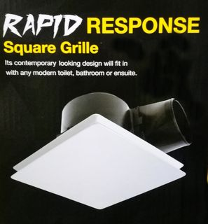"""FANTECH RESPONSE 10"""" SQUARE GRILLE ONLY"""