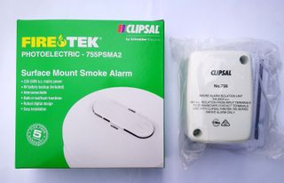 FIRE TEK PHOTOELECTRIC SMOKE ALARM KIT