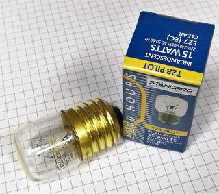 PILOT LAMP 15W 240V CL/2M/E27 FRIDGE