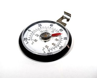 THERMOMETER HAND ON ADHESIVE BACK