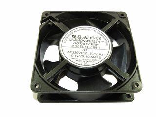 AC AXIAL FAN 120x120x38mm 240V .125/.1A