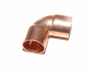 "7/8"" 90° COPPER ELBOWS 22.2MM"