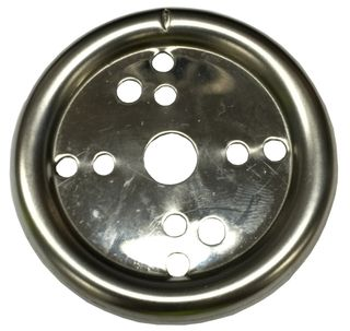 METALIC SILVER SURFACE PLATE FOR KNOBS