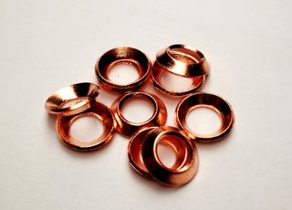 COPPER FLARE WASHER (CU) -1/4 SAE
