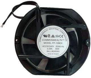 AC AXIAL FAN 150x172x51MM 35W 240V BALL