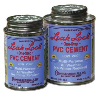 LEAK LOCK PVC CEMENT PRIMERLESS 4OZ CAN