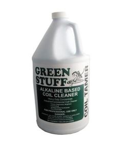 GREEN STUFF ALKALINE COIL CLEANER 1GAL