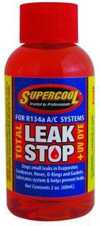 R134A TOTAL LEAK STOP RED + UV DYE 2oz
