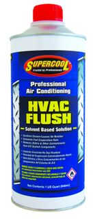HVAC QT FLASH FLUSH