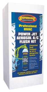 HVAC AC POWER FLUSH AEROSOL KIT