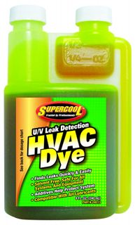 HVAC UV DYE CONCENTRATE 8oz BOTTLE