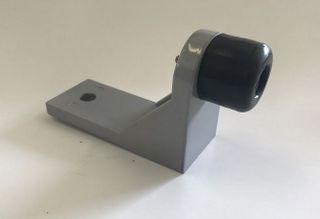FLOOR DOOR STOP GREY 125X50X85MM