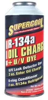 R134A OIL CHARGE PLUS UV DUE 4oz