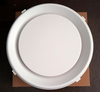 """AIR DIFFUSER ROUND GRILLE 10"""" (254MM)"""