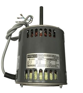 FASCO 750W 6P VARIABLE SP 240V S/S CW DE
