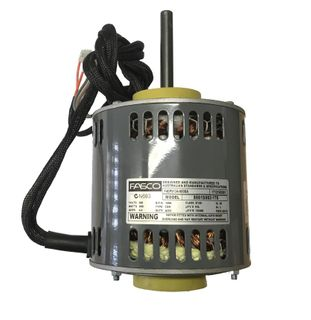 FASCO 600W 4P 3 SPEED 240V S/S CW DE