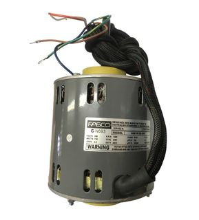FASCO 750W 4P 3 SPEED 240V S/S CW DE