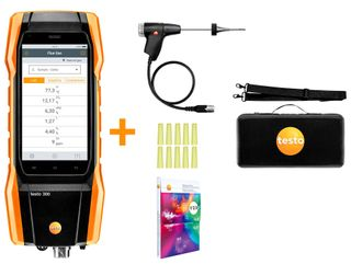 TESTO 300 FLUE GAS ANALYSER DOMESTIC KIT