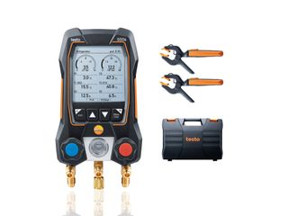 TESTO 550S SMART MANIFOLD KIT+TEMP CLAMP