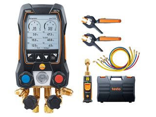 TESTO 557S SMART VACUUM KIT W/ 4 HOSES