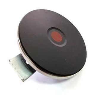 RED DOT SOLID H/PLATE 145MM THERMOCUTOFF