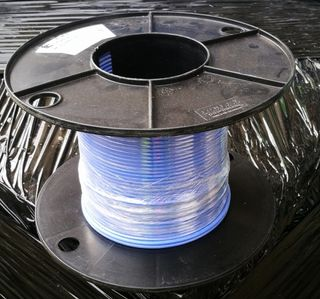 SILICON BLUE HIGH TEMP C/W 1CORE 1.5MM