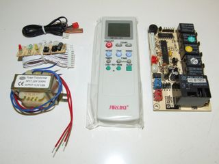 UNI AC REMOTE WTH PCB BOARD 1HP MAX