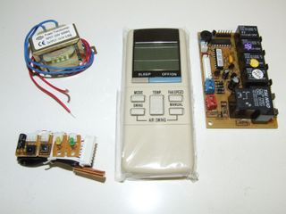 UNIVERSAL AC REMOTE WITH PCB BOARD