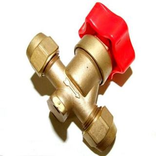 HAND VALVE WITH FLARES 1/2''