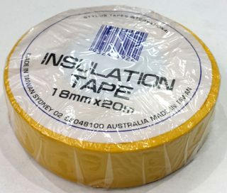 Elect Tape PVC Insulation Yellow