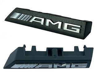AMG BADGE GRILLE
