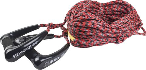 2022 STRAIGHTLINE DOUBLE SUEDE HANDLES WITH 70FT MAINLINE