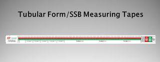 SM Tubular Bdg Measuring Tape Packet of 100