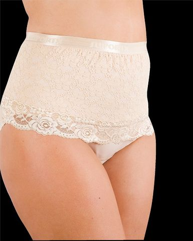 Suportx F Hernia Support Girdle-H Waist-M-Lace-SK Female High Waist Girdle Lace - Skin