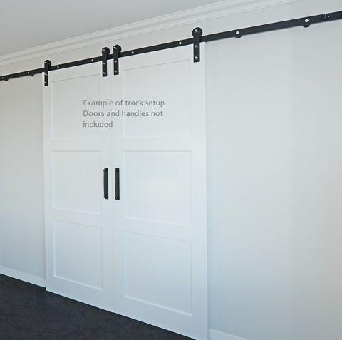 Brooklyn Barn Doors DBL Door Track Kit