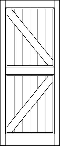 Interior Barn Door Arrow