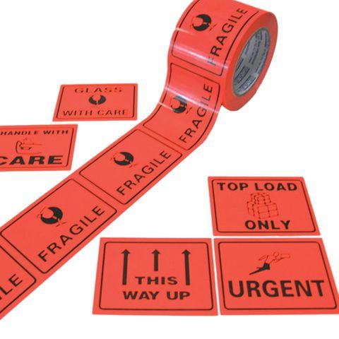 Fragile Message Labels
