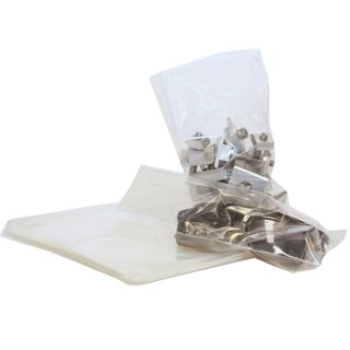 Small Clear Open Top Bags