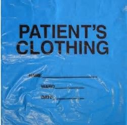Patient Clothing Bag