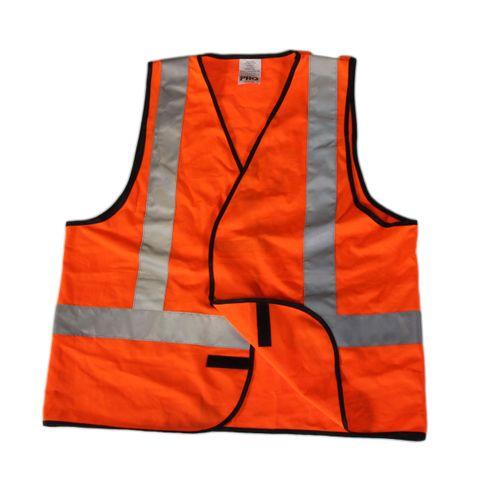 Safety Vest - Reflective Orange
