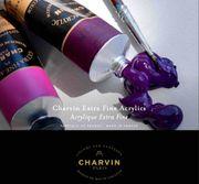Charvin Extra Fine Acrylics -