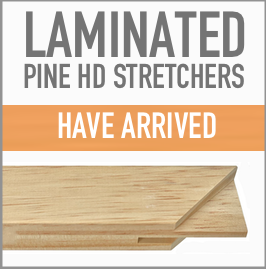 Laminated Pine HD Stretchers